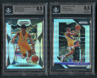 Prizm Silver Ja Morant Rookie and Kobe Bryant BGS 8.5 Lot