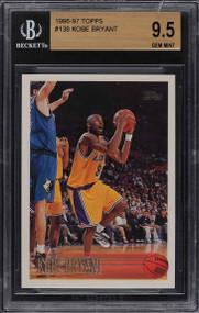 1996 Topps Basketball Kobe Bryant ROOKIE RC #138 BGS 9.5 GEM MINT