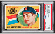 1960 Topps Carl Yastrzemski Rookie RC #148 PSA EX 5 -Centered