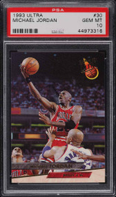 1993 Ultra Michael Jordan #30 PSA 10 Gem Mint