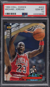 1994 Collectors Choice Michael Jordan #402 PSA 10 Gem Mint
