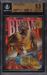 1996 Skybox Z-Force Kobe Bryant ROOKIE RC #142 BGS 9.5 GEM MINT