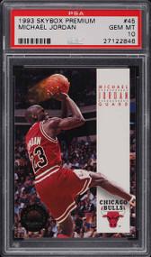 1993 Skybox Premium Michael Jordan #45 PSA 10 GEM MINT