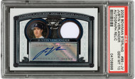 2005 Bowman Sterling Justin Verlander Rookie RC Patch Auto RPA #BS-JV PSA 10 Gem Mint