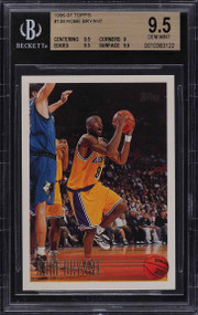 1996 Topps Kobe Bryant ROOKIE RC #138 BGS 9.5 GEM MINT