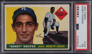 1955 Topps Sandy Koufax ROOKIE RC #123 PSA 5-Centered
