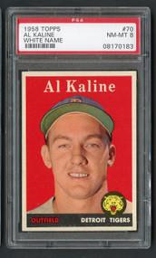 1958 Topps Al Kaline #70 HOF PSA 8 Near Mint