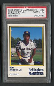 1987 Bellingham Mariners Ken Griffey, Jr. Rookie RC PSA 10 Gem Mint
