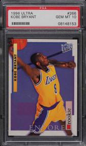 1996 Ultra Kobe Bryant Rookie RC #266 PSA 10 Gem Mint