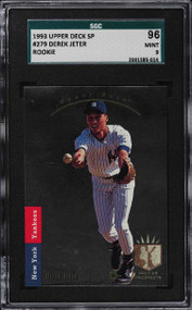 1993 SP Foil Derek Jeter ROOKIE RC #279 SGC 9 MINT