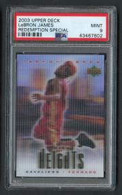 2003 Upper Deck Redemption Sp. Lebron James Rookie RC PSA 9 Mint