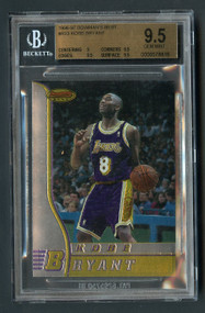 1996 Bowman's Best Kobe Bryant Rookie RC BGS 9.5 Gem Mint