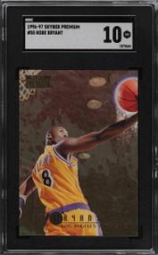 1996 Skybox Premium Kobe Bryant Rookie RC SGC 10 Gem Mint