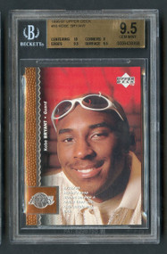 1996 Upper Deck Kobe Bryant Rookie RC #58 HOF BGS 9.5 Gem Mint