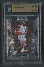 2019 Prizm DP Zion Williamson Rookie RC #1 BGS 9.5 Gem Mint