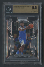 2019 Prizm DP Zion Williamson Rookie RC #64 BGS 9.5 Gem Mint
