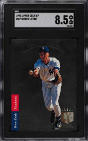 1993 SP Derek Jeter Rookie RC Foil #279 SGC 8.5-Super High-End
