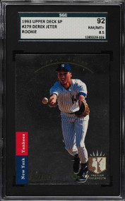 1993 SP Derek Jeter Rookie RC #279 HOF SGC 8.5-High-End