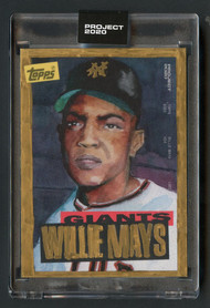 project 2020 willie mays 1/1