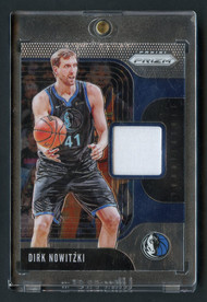 2019 Prizm Dirk Nowitzki Patch DN-W-Mint