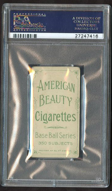 T206 American Beauty 350 W/Frame Jake Beckley PSA 2.5 HOF