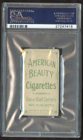 T206 American Beauty 350 W/Frame Jake Beckley PSA 2.5 HOF