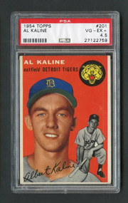 1954 Topps #201 Al Kaline Rookie PSA 4.5 - Centered