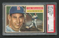 1956 Topps Ted Williams #5 White Back HOF PSA 5 - Centered