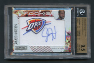 2009 Rookie & Stars Ruby/49 James Harden RC Auto #133 BGS 9.5 Gem Mint