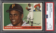 1955 Topps Roberto Clemente RC Rookie #164 HOF PSA Centered