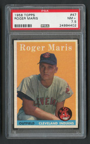 1958 Topps Roger Maris RC Rookie #47 PSA 7.5 - High End