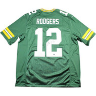 Aaron Rodgers Auto Jersey