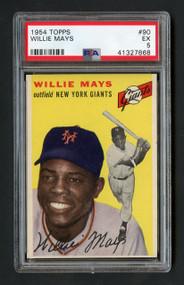 1954 Topps Willie Mays #90 HOF PSA 5 - Centered