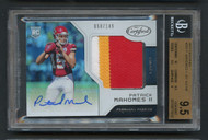 2017 Certified Patrick Mahones RC Rookie Jersey Patch Auto RPA BGS 9.5 Gem Mint