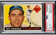 1955 Topps Gil Hodges #187 PSA 6 - Centered & High-End