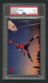 1985 Nike Michael Jordan RC Rookie HOF PSA 9 Mint - High-End