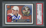 2000 Pacific Aurora Tom Brady RC Rookie Auto PSA 9 Mint