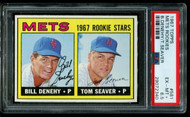 1967 Topps Mets Rookies Tom Seaver RC HOF #581 PSA 6.5 - Centered