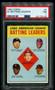 1963 Topps AL Batting Leaders w/Mickey Mantle #2 HOF PSA 7