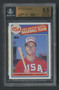 1985 Topps Mark Mcgwire RC Rookie #401 BGS 9.5 Gem Mint with 10 subgrade