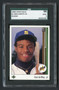 1989 Upper Deck Ken Griffey Jr RC Rookie HOF SGC 9 Mint-Centered