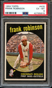 1959 Topps Frank Robinson #435 HOF PSA 6 - Centered & High-End