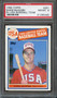 1985 TOPPS MARK McGWIRE RC Rookie #401 PSA 8