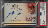 2012 Topps Tribute Mike Trout ROOKIE RC AUTO /99 #MTR PSA 10 GEM MINT