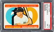 1960 Topps Mickey Mantle All-Star #563 HOF PSA 7 - Centered
