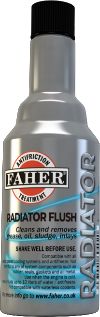 Cleans and removes grease, oil, sludge. Compatible with all water based cooling systems and antifreeze  Not compatible with waterless coolants Instructions: Shake well before use Treats circuits up to 10 liters of water / antifreeze