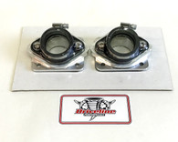 Billet Intake Manifold Kit: Fits 33,34,35mm Carbs Carburetors Yamaha Banshee 350