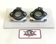 Billet Intake Manifold Kit: Stock 26mm, 28mm Carbs Carburetors Yamaha Banshee 350