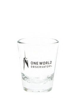 One World Observatory Clear Shot Glass