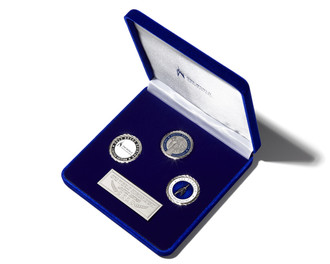 One World Observatory 3 Coin Set